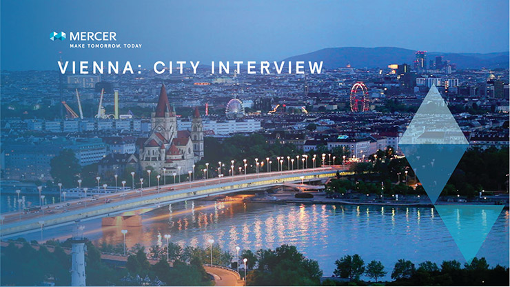 Mercer city interview image for Vienna